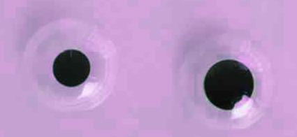 Lentes protésicas para pupila blanca
