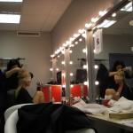 Belén Rueda en maquillaje