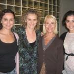 Rosó Morató con las actrices